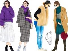 穿大衣如何搭配颜色?这样的大全不可多得!